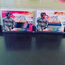2020 Topps Inception Isan Diaz Pink Rookie Patch Auto LOT 25/ 75 Miami Marlins