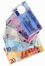 Libya Banknote Set (1-20) Dinars 2011-2016 UNC ЛИВИЯ 利比亚 with new polymer 5 psc