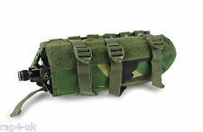 MOLLE orizzontale Paintball co2 Aria Serbatoio Marsupio (MEDIA) (DPM) [os8-4]