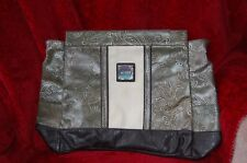 Miche PRIMA Shell Erin Purse/Bag Cover Olive Green Paisley Retired Large Bag