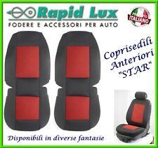 """Coppia fodere coprisedili anteriori Star per Toyota Yaris fantasia """"S746"""""""