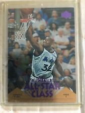 1995 Upper Deck Shaquille O'Neal Purple All-Star Class, Card AS5