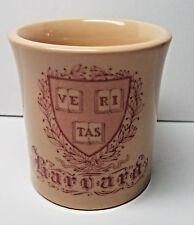 Harvard University Cooperative Society Veritas Coffee Mug Luxor Ivory