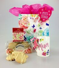 Deluxe Mum Themed Hamper Bag Gift Set Biscuits Tea Birthday Mothers Day Get Well