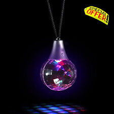 Calming Autism Sensory LED Lights Toy Flashing Prismatic Necklace Crystal Ball