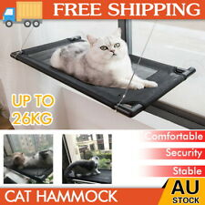 Up To 60lbs Cat Window Bed Hammock Perch Bed Hold Mounted Durable Pet Seat Shelf