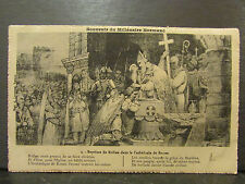 cpa souvenir millenaire normand bapteme rollon cathedrale rouen 76