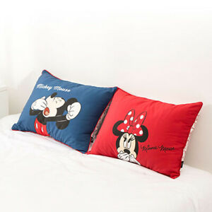 Home Cushion Cover Decor 2 Pattern Mickey Mouse, Minnie Mouse Character Cushion
