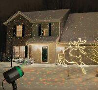 Mini Projecteur RGB Limière Laser éclairage Disco Scène Jardin Noël Fête Cadeau