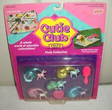 #10158 NRFC Vintage Galoob Cutie Club Colts Party Horse Collection
