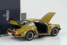 Porsche 911 930 3.3 Turbo 1977 Olive Vert 1:18 Norev 187575