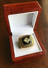 RARE 1981 Los Angles Dodgers World Series Championship Ring Display Box USA