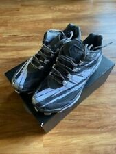 Boombah Riot Molded Cleat Stripes Charcoal/Navy Size 6.5