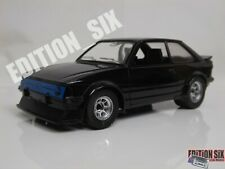 Polistil 1/23 1/24 FORD ESCORT XR3 Black Retro classic car rare