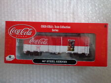 COCA COLA ATHEARN 1/87 SCALE 40' STEEL REEFER CAR #6 OF 6