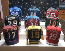 2003-04 Pacific Heads Up Mini Sweaters Hockey Set 9 Pieces Yzerman Brodeur