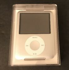 Apple Ipod Nano A1236 MA978LL/A 4GB Silver MP3 Player 3rd Generation Sealed