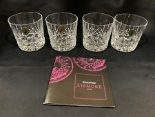 Waterford Crystal Lismore 9oz Tumbler 4 pc Set (One is broken see Pictures)