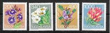 p370 BLUMEN/ Jugoslawien MiNr 1789/92 **