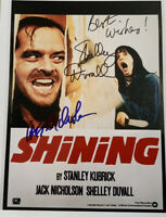 "Jack Nicholson & Shelley Duvall Hand Signed'The Shining' 8 x 10"" Photo. COA"