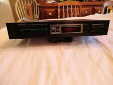 Kenwood Stereo Synthesizer Am/Fm Tuner Model Kt-45 Nice Condition
