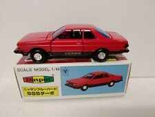 DIAPET G140 1/40 scale NISSAN BLUEBIRD SSS TURBO  in red factory mint & boxed