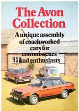 Avon Jaguar XJ Estate Triumph Acclaim Turbo 1983-84 UK Market Foldout Brochure