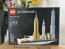 LEGO ARCHITECTURE NEW YORK CITY Display set 21028 Toy Buy 2->5% OFF 4->10% OFF