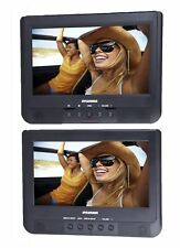 "Sylvania SDVD1037 10.1"" Dual Screen Portable Car DVD Media Player (Player Only)"