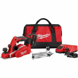 Milwaukee 2623-21 Cordless Planer Kit