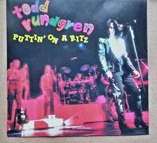 TODD RUNDGREN -  puttin on a RITZ- rare silver import cd live NYC 1989