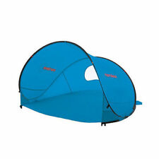 CARIBEE RAPID (BLUE) POP UP BEACH TENT Sun Shade UV Shelter Flip Out