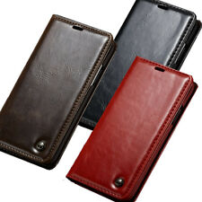 iPhone X Case,Business Leather Wallet Card Pocket Case Cover For Apple iPhone X