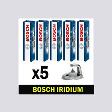 Spark Plugs 5x FOR VOLVO V70 III 07->12 CHOICE2/2 2.5 135 Estate Bosch
