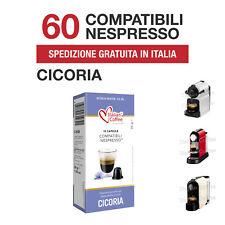 60 Capsule Cialde Cicoria Solubile Italian Coffee compatibili Nespresso