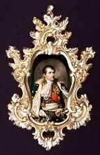 Napoleon portrait in baroque frame. Var.2. Wall or Furniture mounts/decor.