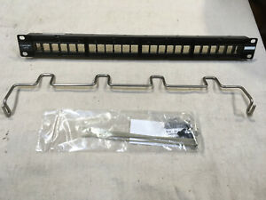 Commscope HFTP-HD6B-1U-24 Panel High Density Modular Panel Shielded 1U 24 Port