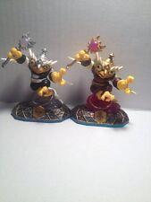 Skylanders Swap Force Hoot Loop And Enchanted Hoot Loop Two Figure Lot