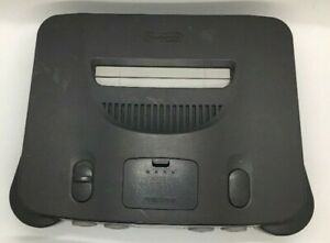 N64 Console Nintendo 64 Console Only Working w/jumper NO cables or controller