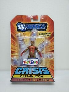 "DC Universe Infinite Heroes 3.75"" Captain Atom Crisis Series I Figure 57 NEW"