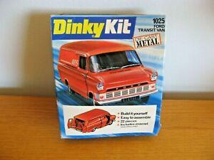 Dinky Action Kit Ford Transit Van #1025 Metal Action Kit in Original Sealed Card