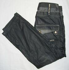 883 POLICE CARGO COMBAT JEANS Designer Black Skater Trousers Pants Waist 30 L 30