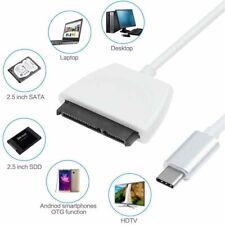 USB3.1 Serial ATA III 7+15PIN Adapter Type-C To Sata 3 Data Cables Data  Adapter