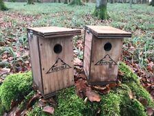 2 x Nistkasten für Meisen Spatzen Sperlinge Vogelkasten Kieferle 009.003