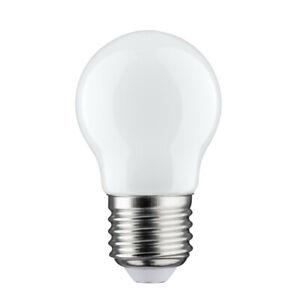 Paulmann 283.33 LED Leuchtmittel Tropfen 2,5W Lampe E27 Opal Warmweiß 2700K 230V