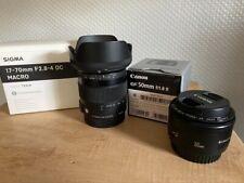 Sigma 17-70mm F2,8-4 Macro Contemporary für Canon