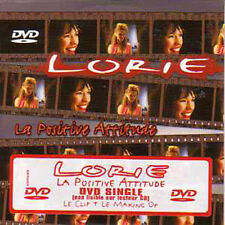 LORIE	La positive attitude DVD single CARD SLEEVE Clip + Making of	NEUF RARE