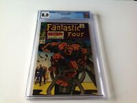 FANTASTIC FOUR 68 CGC 8.0 WHITE PAGES MAD THINKER MARVEL COMICS