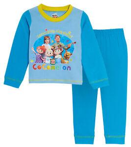 Boys CoComelon Pyjamas Kids  Full Length Pjs Set Nightwear YouTube J.J. + Family