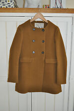 JACK WILLS 'Buttermere' Mustard Camel Wool Coat, UK 12, BNWT RRP £249